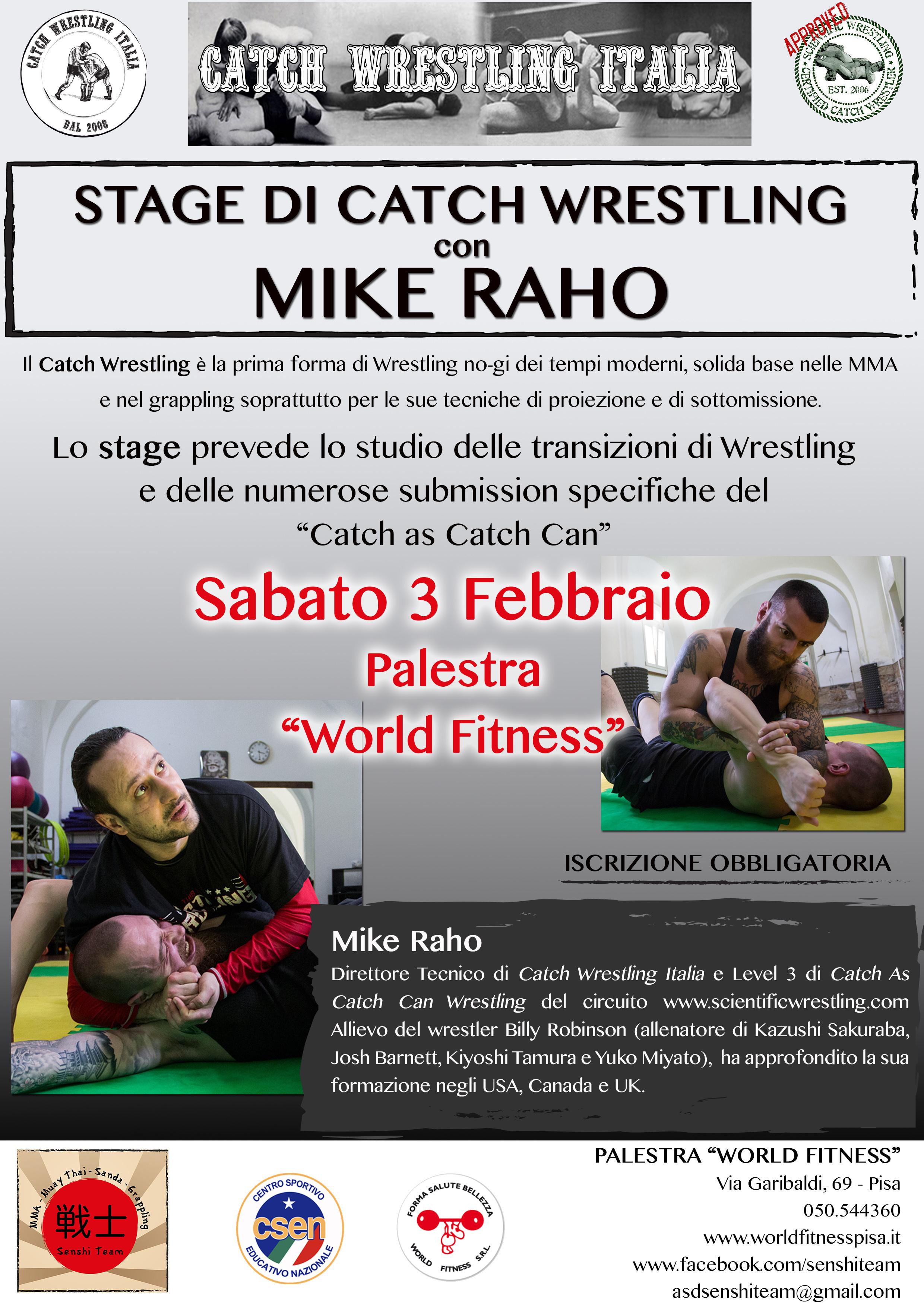 Catch Wrestling private Seminar